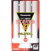 FML27EX-L [コンパクト形蛍光ランプ ツイン2パラレル GX10q-4口金 3波長形電球色 27形]