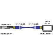 VC-S120G Sビデオコード [Sプラグ-Sプラグ 2m]