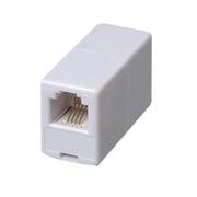 TP5W [テレホンコネクター ホワイト モジュラー中継コネクター]