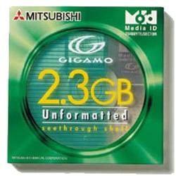 KID2G3U1S [MO 2.3GB アンフォーマット 1枚]