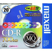 CDR700S.MIX1P20S [CD-R 700MB 20枚 カラー10色]