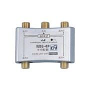 WDG-4P [CS・BS・デジタル対応 4分配器 金メッキ仕様 全端子通電]