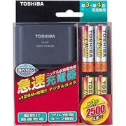 THC-344KC Y [ニッケル水素電池・急速充電器セット 単3形 4本]