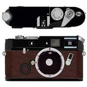 Leica a la carte(ライカ アラカルト) レザー外装 オーストリッチ風赤茶色