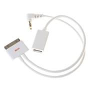 SIK-IP-000003 (ホワイト) [iPodシリーズ専用 FireWire/オーディオ出力ジャックコンボケーブル ram din]