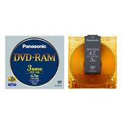 LM-HB47LA [DVD-RAMディスク 片面4.7GB 3倍速対応 カートリッジ付]