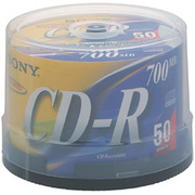 50CDQ80DNSP [CD-R 700MB 48倍速 CD-Rライター対応 スピンドルパック 50枚]