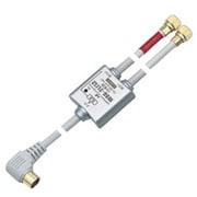 WDG-2L152 [CS・BS対応 2分配器 金メッキ仕様 ケーブル付 1端子通電]