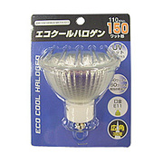 JDR110V100WUV/WK7HE11 [白熱電球 エコクールハロゲン E11口金 110V 150W形(100W) 70mm径 広角]