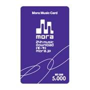 3225003 [Mora Music Card 5,000円分]