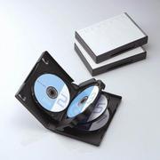 CCD-DVD10BK [7枚収納DVDトールケース ブラック・3個パック]
