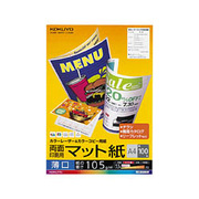 LBP-F1110 [カラーLBP&カラーコピー用紙 両面印刷用・マット紙 薄口A4 100枚]