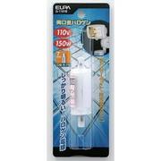 G-1191B [白熱電球 ハロゲンランプ R7S口金 110V 150W 両口金 クリア]