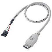 TK-USB2 [USBケーブル USB Aコネクタメス-バラ4P メス]