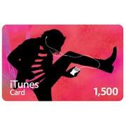 iTunes Card 1,500円分 [MA781J/A]