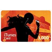 iTunes Card 3,000円分 [MA782J/A]