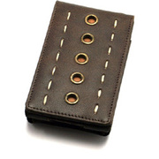 TUN-IP-100093 [iPod 5G用 レザーケース] PRIE Rawhide 5G Distressed Leather 5 eyelets