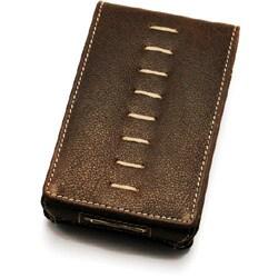 TUN-IP-100095 [iPod 5G用 レザーケース] PRIE Rawhide 5G Distressed Leather Thread stitch