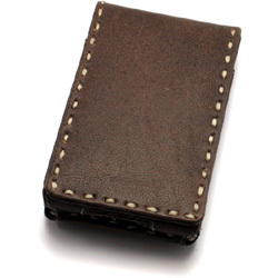 TUN-IP-100097 [iPod 5G用 レザーケース] PRIE Rawhide 5G Distressed Leather Side stitch