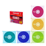 DRW47MIXB.S1P5S A [データ用DVD-RW 片面4.7GB 2倍速 カラー 5枚]