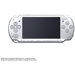 PSP(プレイステーション・ポータブル) アイス・シルバー PSP-2000IS