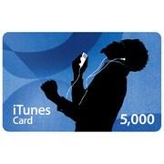 iTunes Music Card 5,000円分 [MA783J/A]