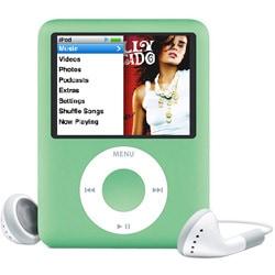 MB253J/A(グリーン) [メモリーオーディオ 8GB] iPod nano 3rd
