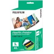F-ICP40L [FinePix Printer専用インクカートリッジ・ペーパーセット Lサイズ 40枚]