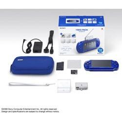 PSP(プレイステーション・ポータブル) メタリックブルー ワンセグパック PSPJ-20004
