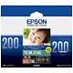 エプソン 写真用紙光沢 KL200PSKR 1箱(200枚)