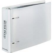 EDF-CME10T [CD/DVD用 2穴ファイル MEDIA PASS CDサイズ クリア]