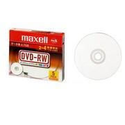 DRW47PWC.S1P5S A [DVD-RW 片面4.7GB 4倍速対応 インクジェット対応 5枚]