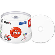 DR-C47WWY50BN [データ用DVD-R 4.7GB インクジェットプリンタ対応 16倍速対応 ワイドタイプ プリンタブル白 50枚]