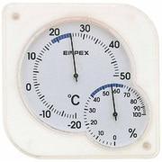 TM-5601 [シュクレmidi 温度・湿度計 クリアホワイト]