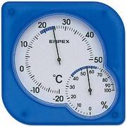 TM-5606 [シュクレmidi 温度・湿度計 クリアブルー]