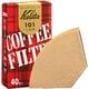 カリタ コーヒーフィルター 101濾紙 1~2人用 ブラウン 40枚入