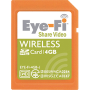 EYE-FI-4GB-J [SDHCカード 4GB Eye-Fi Share Video 無線LAN内蔵]