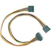 OWL-CBPU014 [電源分配ケーブル SATA用15ピン電源オス → SATA用15ピン電源コネクタメス×2 30cm]