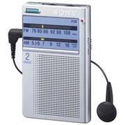 ICF-T46 S [FM/AMポケッタブルラジオ ワイドFM対応]
