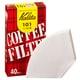 カリタ コーヒーフィルター 101濾紙 1~2人用 ホワイト (#11037) 40枚入