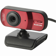 UCAM-DLV300TRD [USB接続 300万画素 Webカメラ レッド]