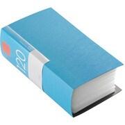 BSCD01F120BL [CD/DVDファイル ブックタイプ 120枚収納 ブルー]