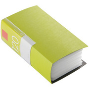 BSCD01F120GR [CD/DVDファイル ブックタイプ 120枚収納 グリーン]