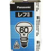 RF100V54WD [白熱電球 レフ電球 E26口金 100V 60W形(54W) 62mm径 屋内用]