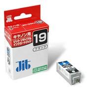 JIT-C19B [キヤノン BCI-19Black互換 リサイクルインクカートリッジ ブラック]