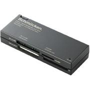 MR-C23BK [メモリリーダライタ ケーブル収納 SDXC対応 SD+MS+XD対応 ブラック]