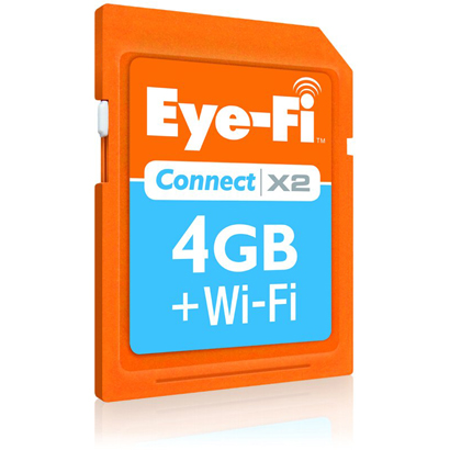 EFJ-CN-4G Eye-Fi(アイファイ) Connect X2 [SDHCカード CLASS6 4GB]
