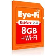 EFJ-EX-8G Eye-Fi(アイファイ) Explore X2 [SDHCカード CLASS6 8GB]