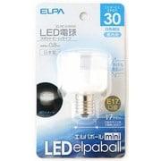 ELRF-01B/W [LED電球 E17口金 白色 40mm径 LED elpaball mini(エルパボール ミニ)]