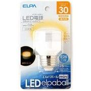 ELRF-02B/L [LED電球 E26口金 電球色 40mm径 LED elpaball mini(エルパボール ミニ)]